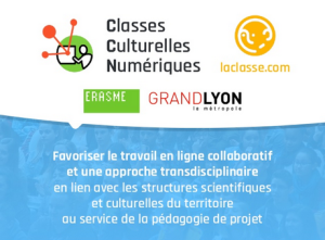Classes culturelles numériques - Métropole de Lyon